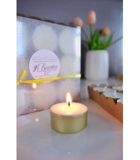 bougies chauffe-plat naturelles