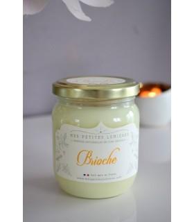 Bougie parfumee a la brioche au beurre