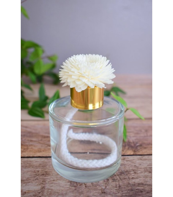 Fleur en bois de sola - Chrisanteme