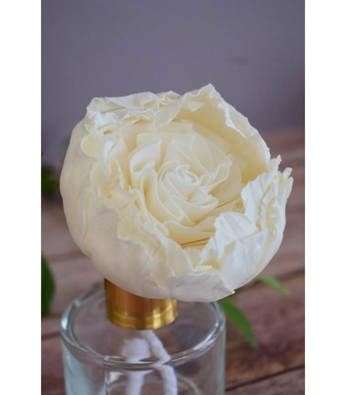 Fleur en bois de sola - Juliet Rose