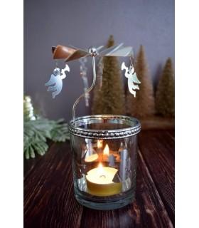 Carousel de Noël - Anges