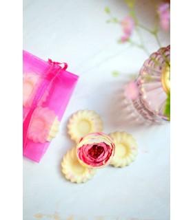 Fondant parfumé sucre rose pour parfumer la maison d'une odeur sucrée