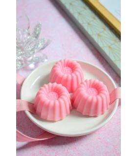 Fondant en cire parfumée Jus de Fraise senteur bonbon à la fraise