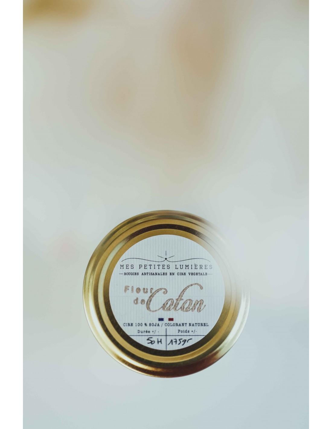 Bougie Parfumee Parfum Fleur De Coton